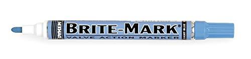 Dykem Paint Marker, Brite Mark(R) 916, Lite Blue - 84008 Pack of 5