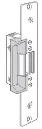 Adams Rite 7111-340-628 Electric Strike for Woord Jambs with Long Faceplate. 12 Volt AC. Fail Secure. 628 Clear Anodized Finish. by Adams Rite
