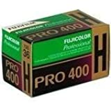 Fujifilm 16326066 Fujicolor Pro 35mm 400H Color Negative Film ISO 400 - 5 Rolls of 36 Exposures (Green/White/Purple)