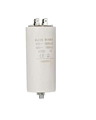 Fixapart - W1-11040N - Condensadores - Blanco - 50x135 mm