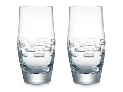 Rogaska Trump Collection Lincoln Square Glassware Set Of 2