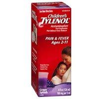 Tylenol Child Grape Splas Size 4z Tylenol Child Oral Suspens