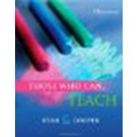 Those Who Can, Teach by Ryan, Kevin, Cooper, James M. [Cengage Learning,2012] (Paperback) 13th edition [Paperback]