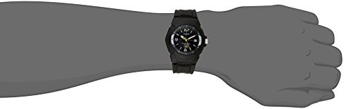 Casio Mens MW600F-2AV Analog Quartz Black Watch