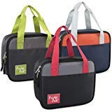 (Bulk Wholesale Case Pack of 24 Lunch Boxes/Cooler Bags for Boys Girls & Adults (Two Tone))