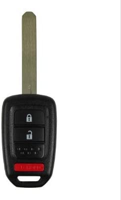 CanadaAutomotiveSupply /© 1 New Replacement Uncut Keyless 3 Button Remote Head Key Fob SHELL for select HONDA vehicles MLBHLIK6-1T