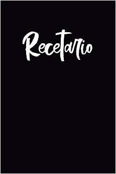 Recetario: Libreta a rayas pequeña, libro de recetas en blanco para escribir. Regalo original perfecto para hombre, mujer. Para cualquier ocasión, cumpleaños, navidad, amigo invisible…