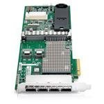 HP 487204-B21 Smart Array P812/1GB Flash 8-ports Int/16-ports Ext PCIe x8 SAS Controller (Certified Refurbished)