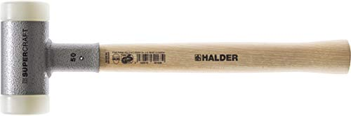 Halder 3366.030 Supercraft 15 oz Dead Blow Hammer, Hickory Handle