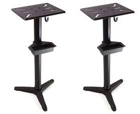 WEN 4288 Cast Iron Bench Grinder Pedestal Stand with Water Pot (2-(Pack))