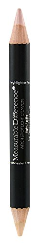 Measurable Difference Arch Spotlight Duo Sided Concealer Highlighter and Corrector Pencil, Light