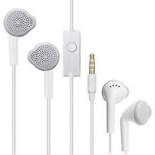 Hands Free Headset Earphone 3.5 mm Jack and Mic Compatible for Samsung and Other Smartphones