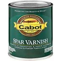 Varnish,Spar,Oil Satin,Qt by Cabot