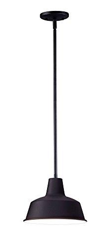 Maxim Lighting 35017BK Pier M Outdoor Hanging Lantern, Black by Maxim Lighting