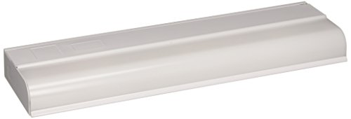 Progress Lighting P7004-30EBS Traditional One Light Undercabinet Collection in White Finish, 12.38 inches