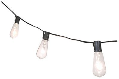 Snowman Icicle Ornament - NOMA/INLITEN-IMPORT V10006 2Pk 7W Clear Edison Bulb