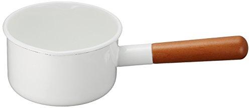 Made in Japan Noda Horo Pochika Milk Pan 12cm Enamelware (Best Non Stick Milk Pan)