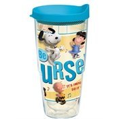 Tervis Tumbler Peanuts Movie Be Yourself Wrap 24oz with Travel Lid