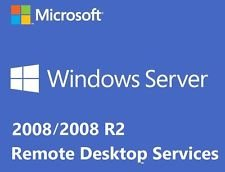 Windows Server 2008 RDS TS Remote Desktop Services: 75 CALS-licenties voor gebruikers / apparaten – Terminal Services…