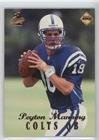Peyton Manning (Football Card) 1998 Collector's Edge 1st Place - [Base] #135 - 1998 Peyton Manning Edge