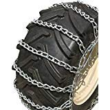 Read About TireChain.com 4.80 x 8, 4.80 8 Heavy Duty Tractor Tire Chains Set of 2