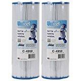 2 Unicel C4950 Filter Cartridges