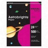 WAU22528 - Astrobright Paper, 24Lb, 8-1/2x11, 500/PK, Lunar Blue
