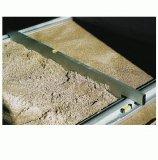Triuso Schüttgutlehre 200 cm Grundschiene 1 Paar Trockenschüttgutlehre Pflastern Abziehlehre Abziehschiene