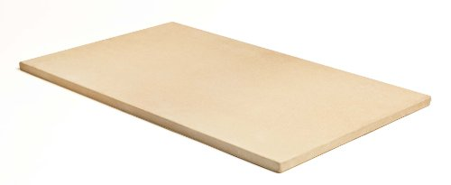 Pizzacraft PC0102 20 x 13.5 Rectangular Cordierite Baking/Pizza Stone for Oven or Grill