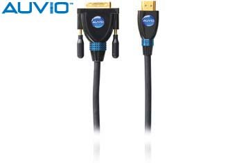 Auvio HDMI to DVI Cable 6-ft. (Shack Cable Dvi Radio)