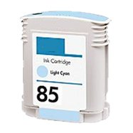 Toner Spot Remanufactured Ink Cartridge Replacement for HP 85/C9428A (Light Cyan)