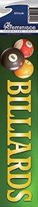 Reminisce Signature Series Billiards Scrapbook Title Sticker ()