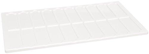 Kartell 211615 Microscope Slide Tray Holder for 100 Microscope Slides (Case of - Kartell Trays