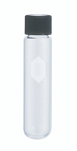 Kimble 45212-35 Glass Conical Bottom 35mL Heavy-Duty Centrifuge Tube with Screw Cap, Clear (Case of -