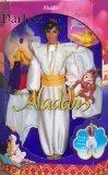 "Vintage 90s Aladdin Doll 12"" Disney Classics Mattel Figure 1"