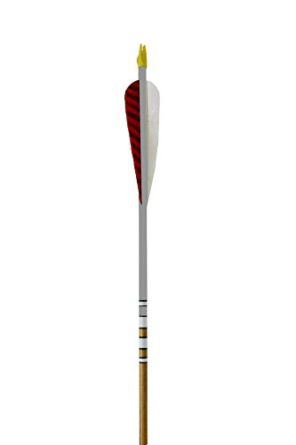 Rose City Archery Port Orford Cedar Hunter Elite Arrows with 5-Inch Length Parabolic Fletch