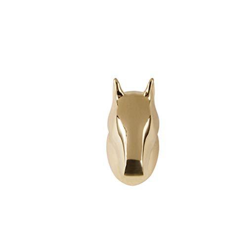 Creative Horse Head Styling Wall Hook Retro Hook Keychain Hook