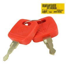 John Deere Key - John Deere Original Equipment Key #RE183935