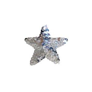 スパンコールモチーフ 星型<小>(M867) アイロン接着 40.シルバーの商品画像