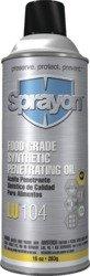 Sprayon - LU104 Food Grade Penetrating Oil 11.75 oz aerosol (Pack of - Aerosol 11.75 Ounce
