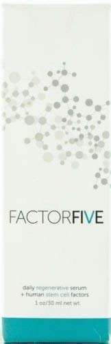 Factor Five Daily Regenerative Serum/Human Stem Cell Factors 1oz/30mL NIB AUTH - Regenerative Cell