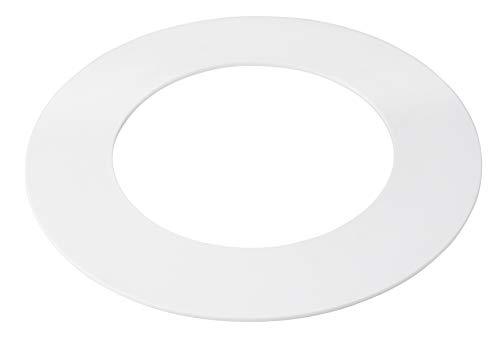 5 Pack White Plastic Trim Ring for 10