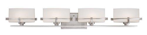 Quoizel NN8604BN Nolan 35.5-Inch W 4 Light Bath Wall Light Fixture ()
