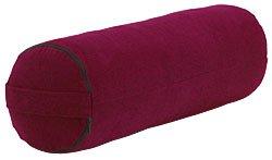 Bodhi Yoga - Cojín rodillo para yoga, color rojo: Amazon.es ...