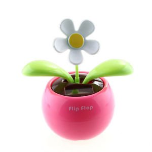 KINGZER Flip Flap Solar Powered Flower Flowerpot Swing Dancing Toy Gift from KINGZER