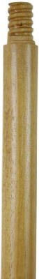 Quickie Bulldozer 60-Inch Replacement Wood Handle with Threaded Connector
