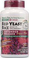 Nature's Plus - Herbal Actives Red Yeast Rice 600 mg Extended Release, 120 Mini Tab (Multi-Pack) by NATURES PLUS