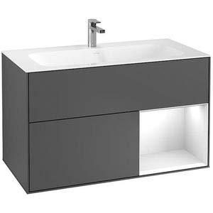 Villeroy & Boch V&B Waschtischunterschrank FINION 996x591x498 Reg go ma/Sun