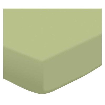 SheetWorld Fitted Portable/Mini Crib Sheet - Solid Sage Jersey Knit - Made In USA