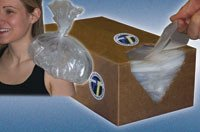 Pro-Tec Athletics PTECOICE Eco-Ice Bags Recycled 1 mil 6x3x18 1000/Cr